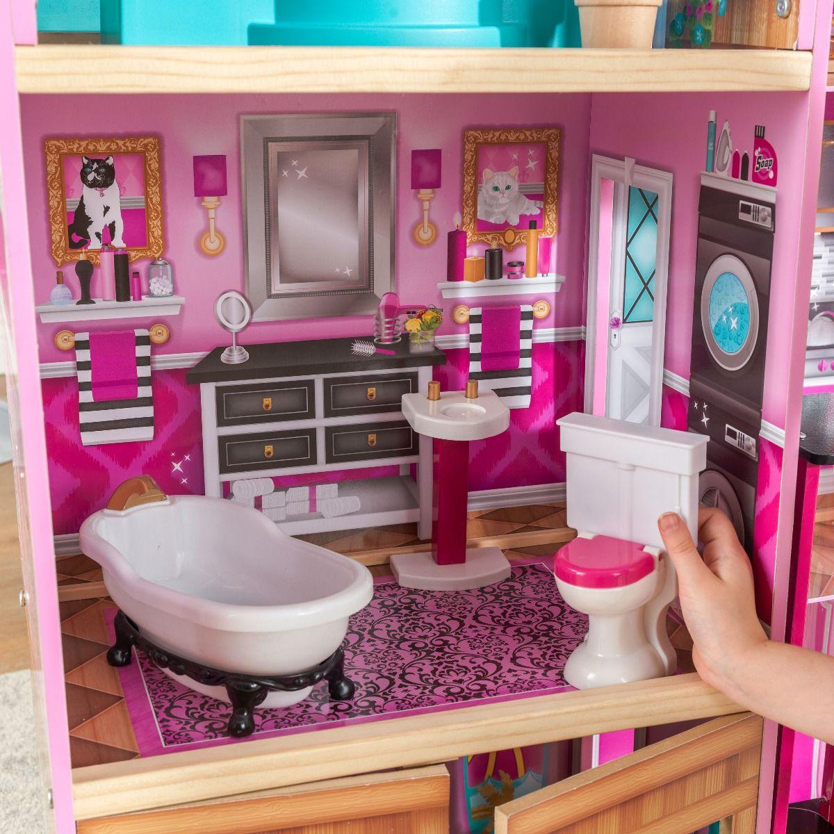Kidkraft дървена къща за кукли- Самър- детски играчки за момичета(4)Kidkraft дървена къща за кукли- Самър- детски играчки за момичета(7)-bellamiestore