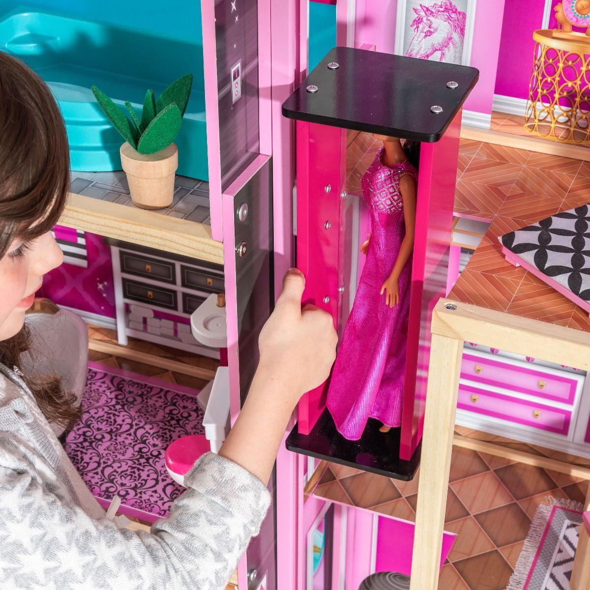 Kidkraft дървена къща за кукли- Самър- детски играчки за момичета(4)Kidkraft дървена къща за кукли- Самър- детски играчки за момичета(6)-bellamiestore