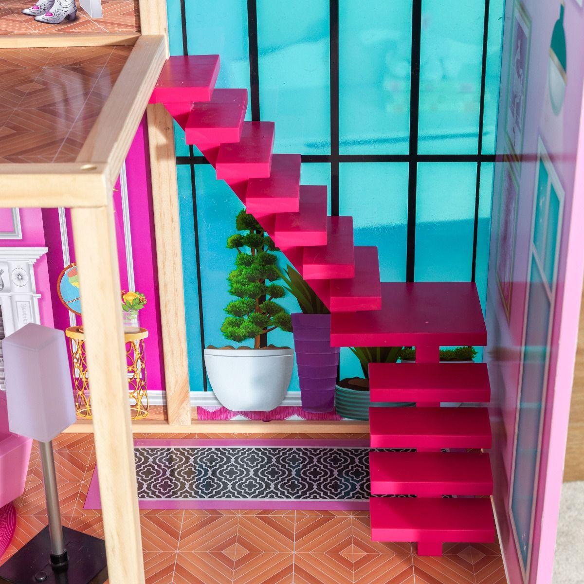 Kidkraft дървена къща за кукли- Самър- детски играчки за момичета(4)Kidkraft дървена къща за кукли- Самър- детски играчки за момичета(5)-bellamiestore