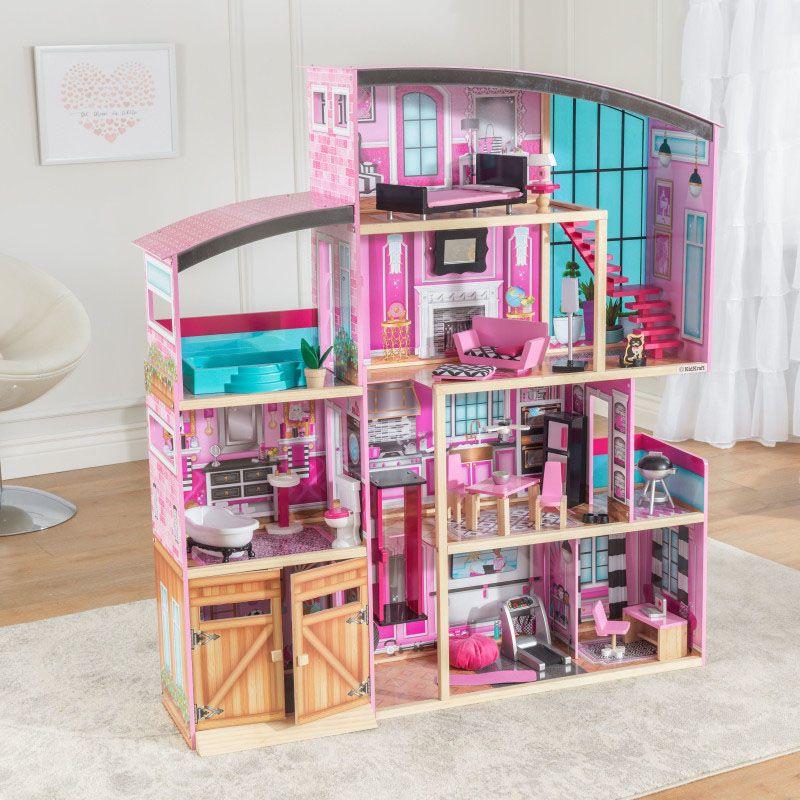 Kidkraft дървена къща за кукли- Самър- детски играчки за момичета(4)-bellamiestore