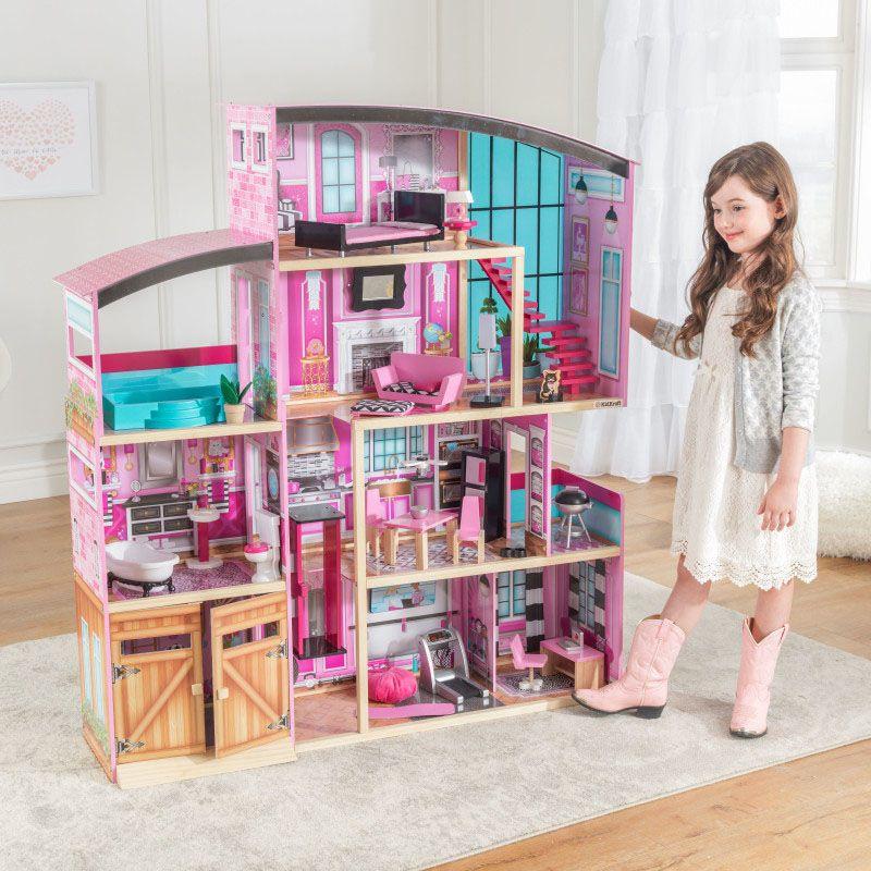 Kidkraft дървена къща за кукли- Самър- детски играчки за момичета(3)-bellamiestore
