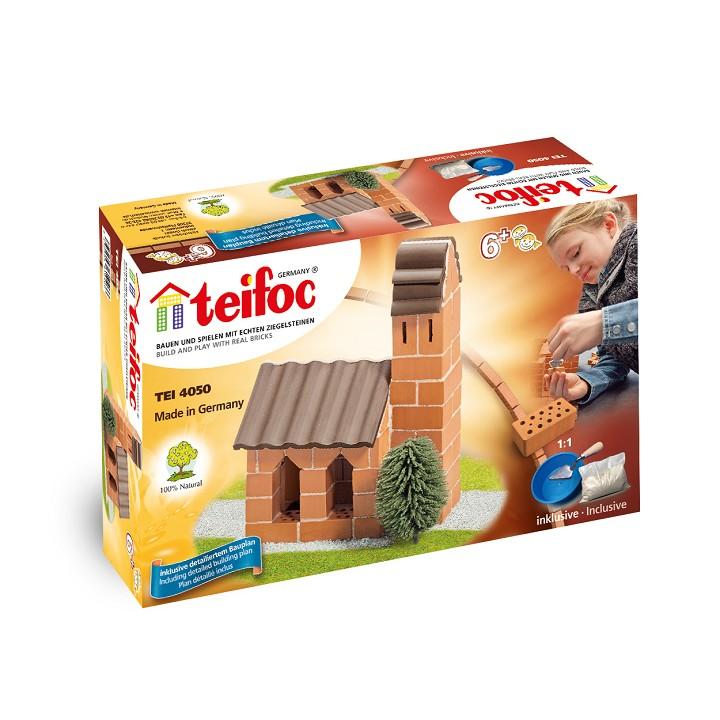 Конструктор от тухли - Църква- творчески комплекти и образователни играчки от Teifoc(1)-bellamiestore