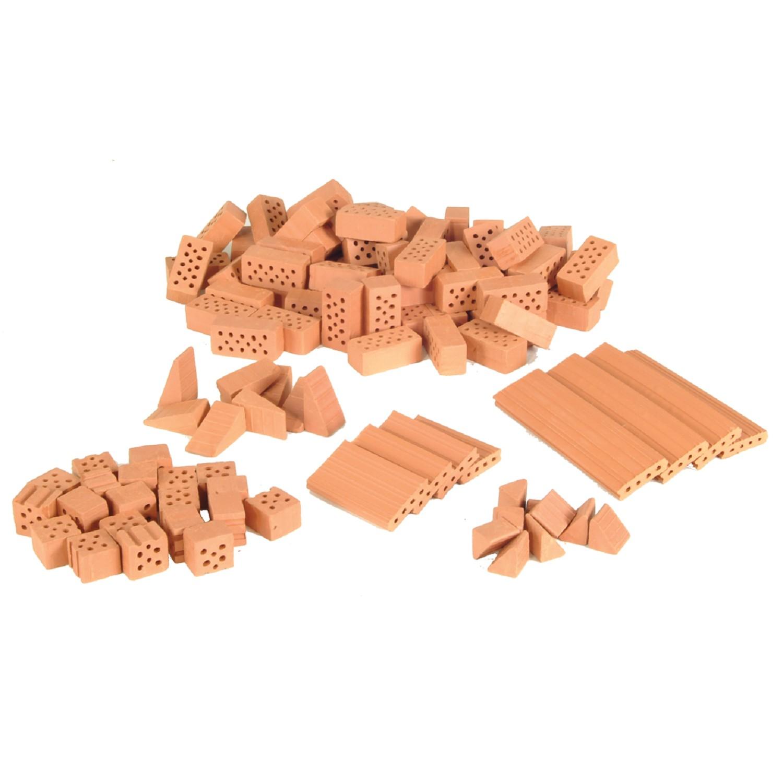 Строителен комплект с тухли- Къща с гараж- конструктори и творчески комплекти от Teifoc(6)-bellamiestore