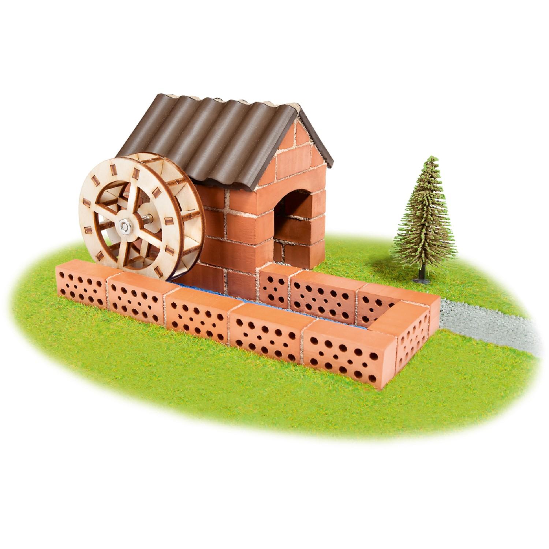 Конструктор от тухли - Воденица- творчески комплекти и образователни играчки от Teifoc(3)-bellamiestore