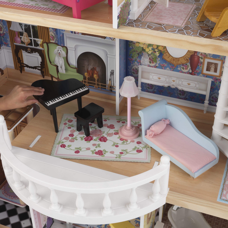Куклена къща с обзавеждане - Магнолия от Kidkraft -дървена играчка - Bellamie