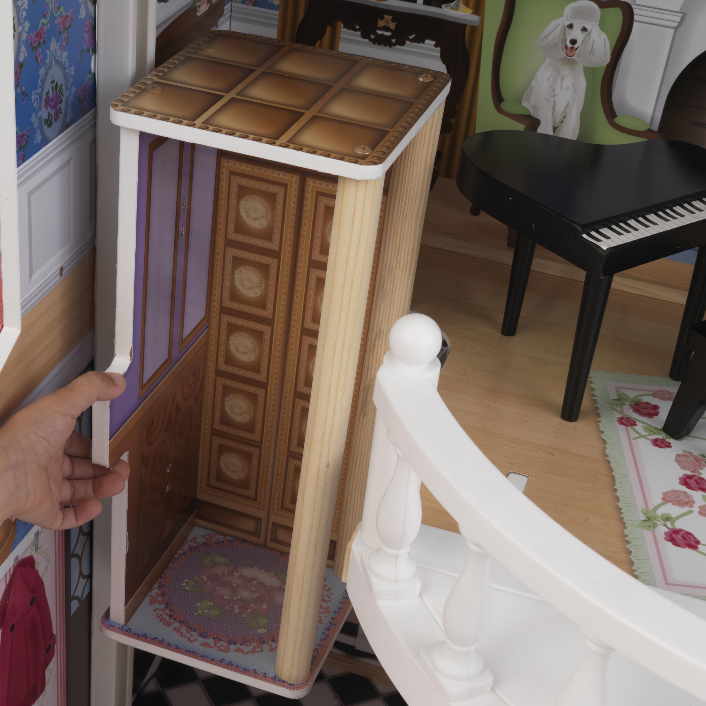 Куклена къща с обзавеждане – Магнолия от Kidkraft -дървена играчка