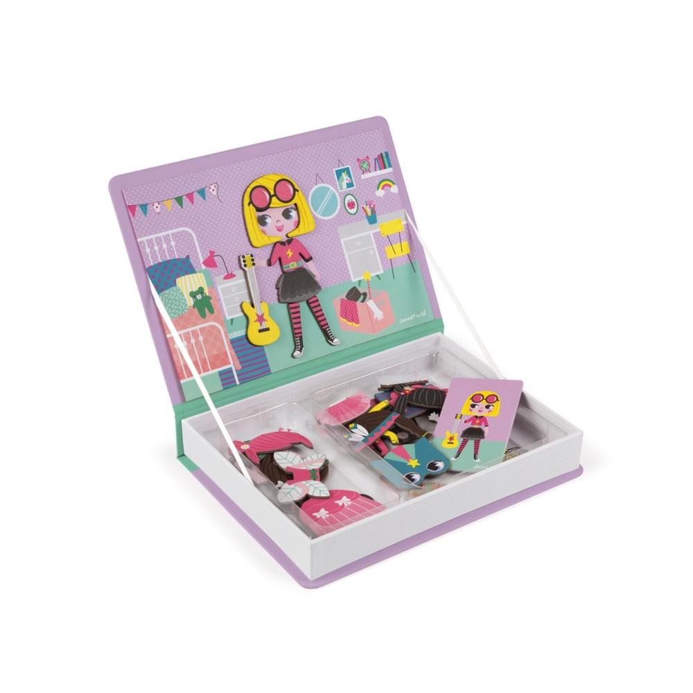 Магнитна образователна игра-облечи момичетата от Janod- детски играчки(2)-bellamiestore