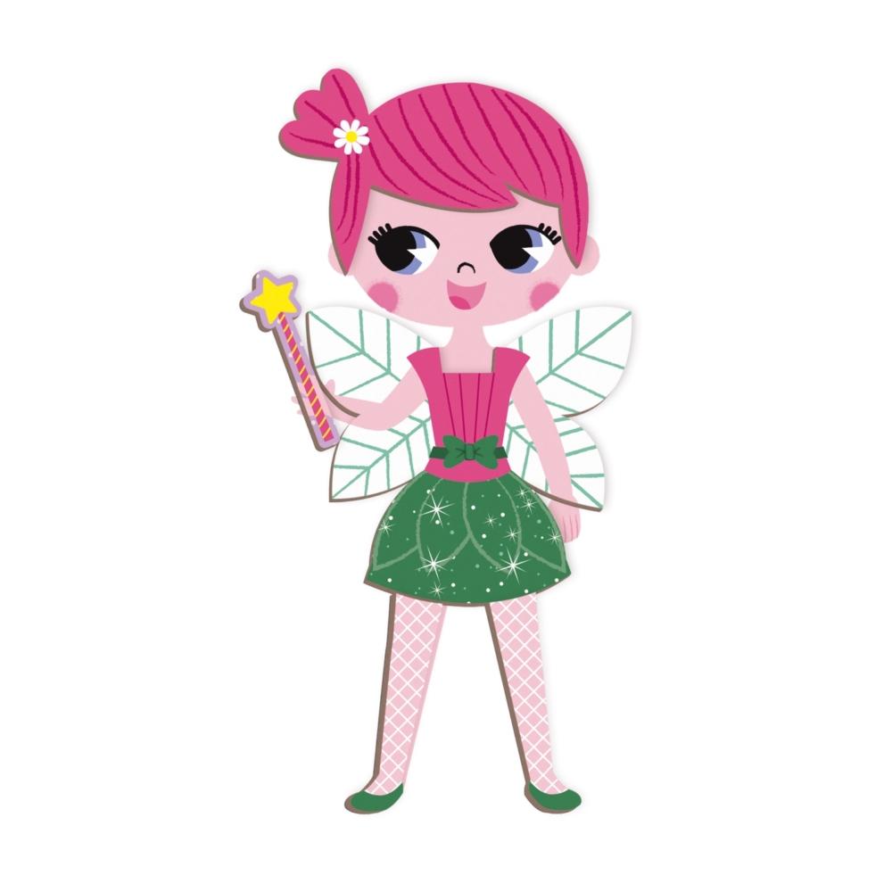 Магнитна образователна игра-облечи момичетата от Janod- детски играчки(3)-bellamiestore