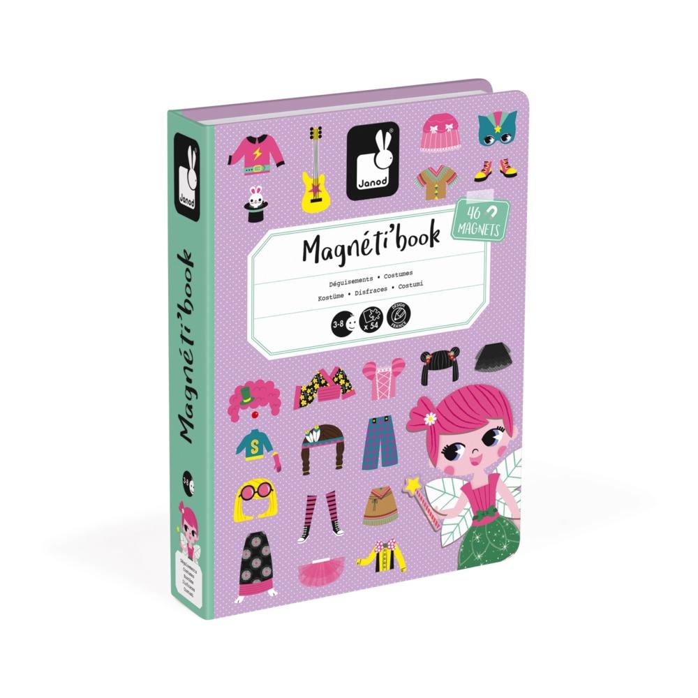 Магнитна образователна игра-облечи момичетата от Janod- детски играчки(4)-bellamiestore