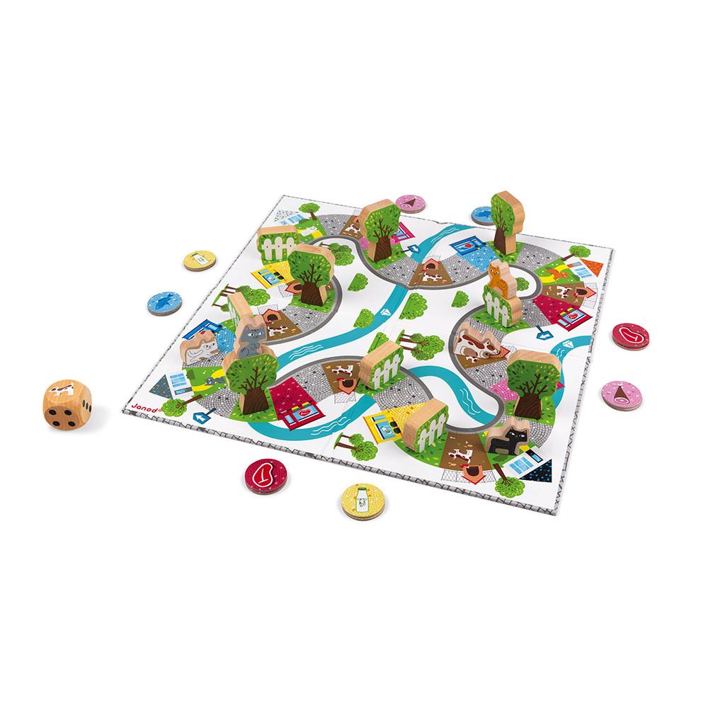 Настолна състезателна игра - Котки и кучета - детски образователни играчки от Janod (5)-bellamiestore