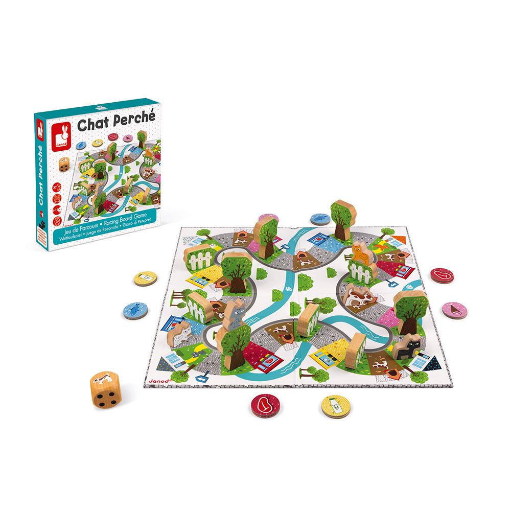 Настолна състезателна игра - Котки и кучета - детски образователни играчки от Janod (1)-bellamiestore