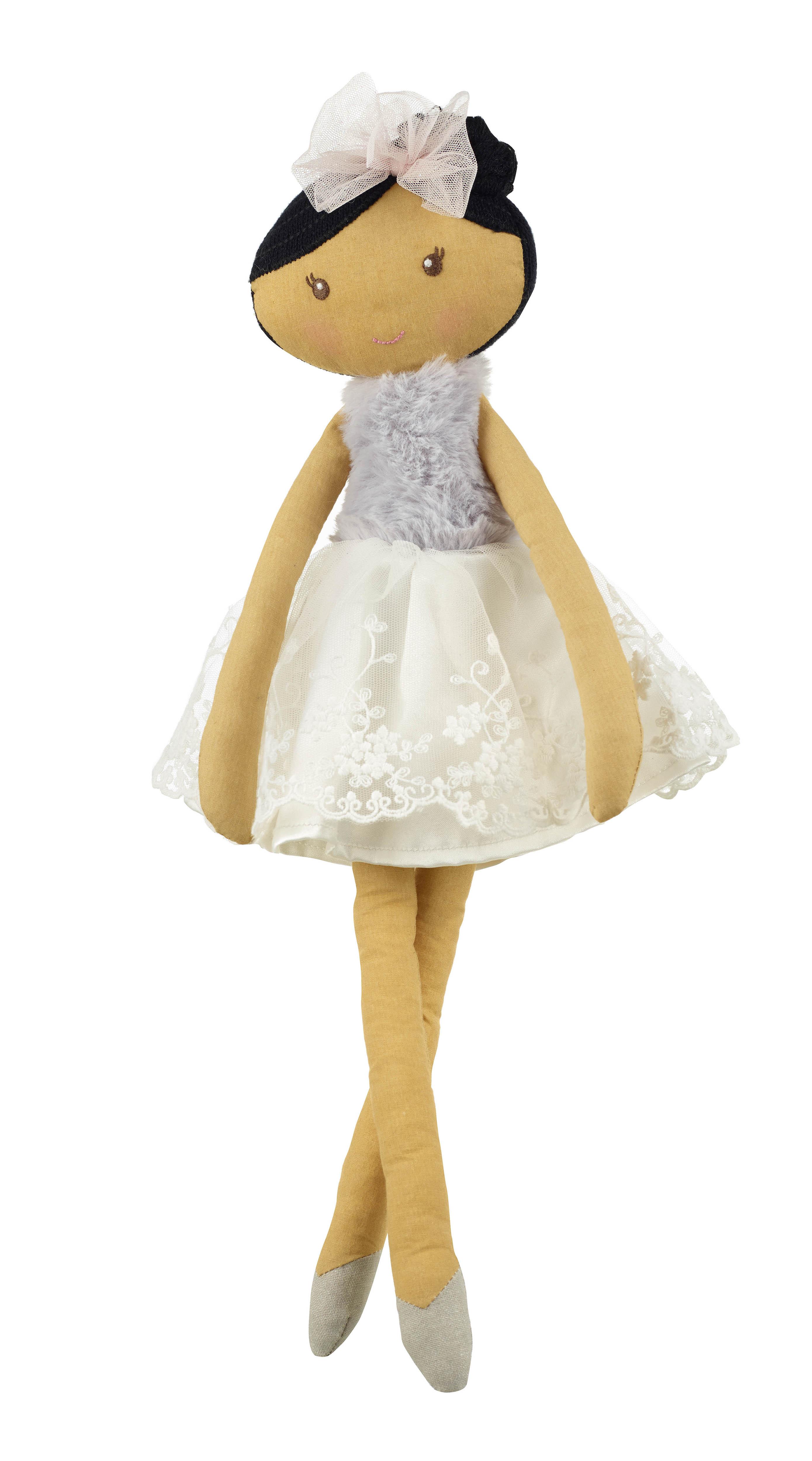 Оливия - Мека кукла балерина от Orange Tree Toys детска играчка за момичета - Bellamie
