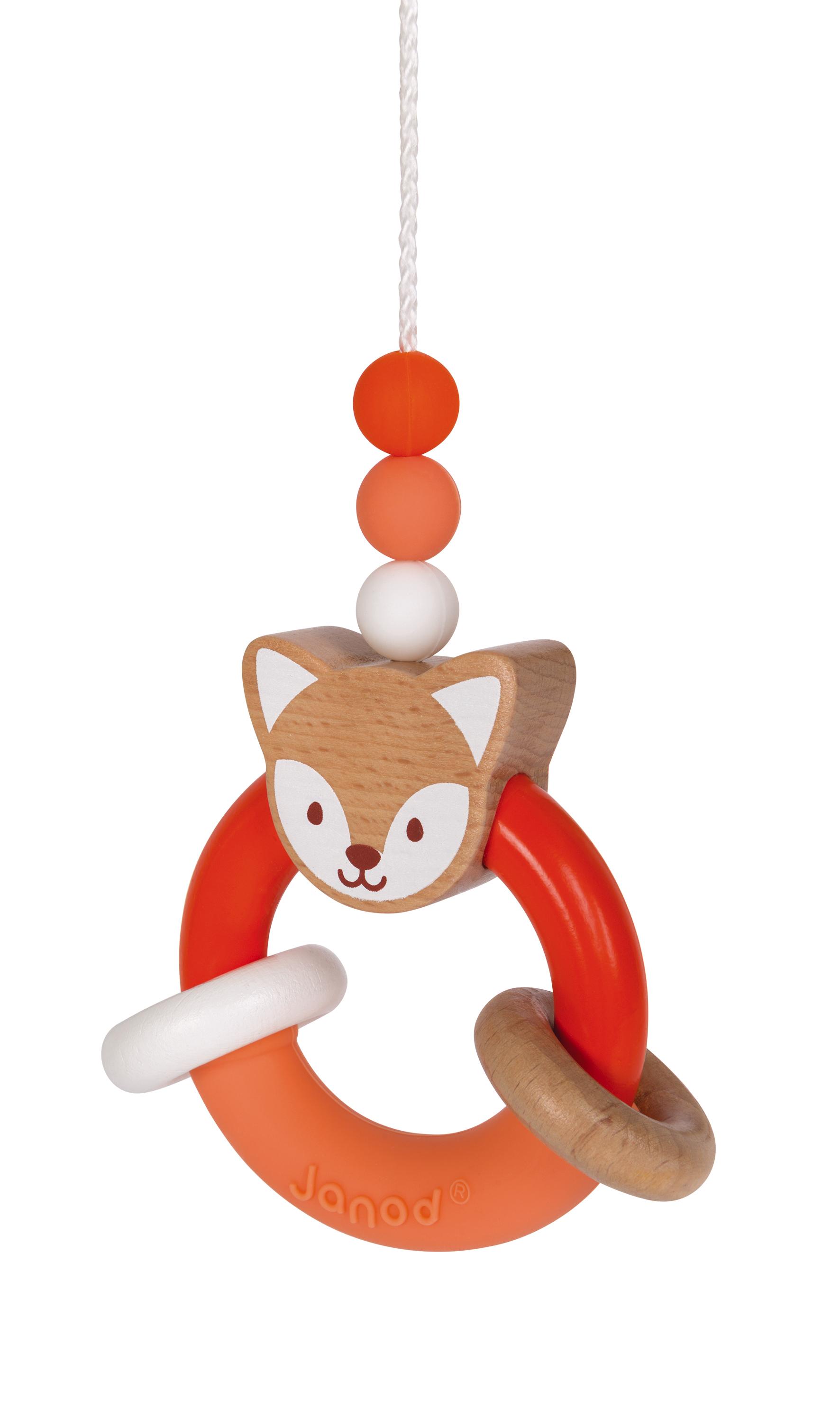 Активна гимнастика от дърво - бебешка играчка от Janod-bellamiestore