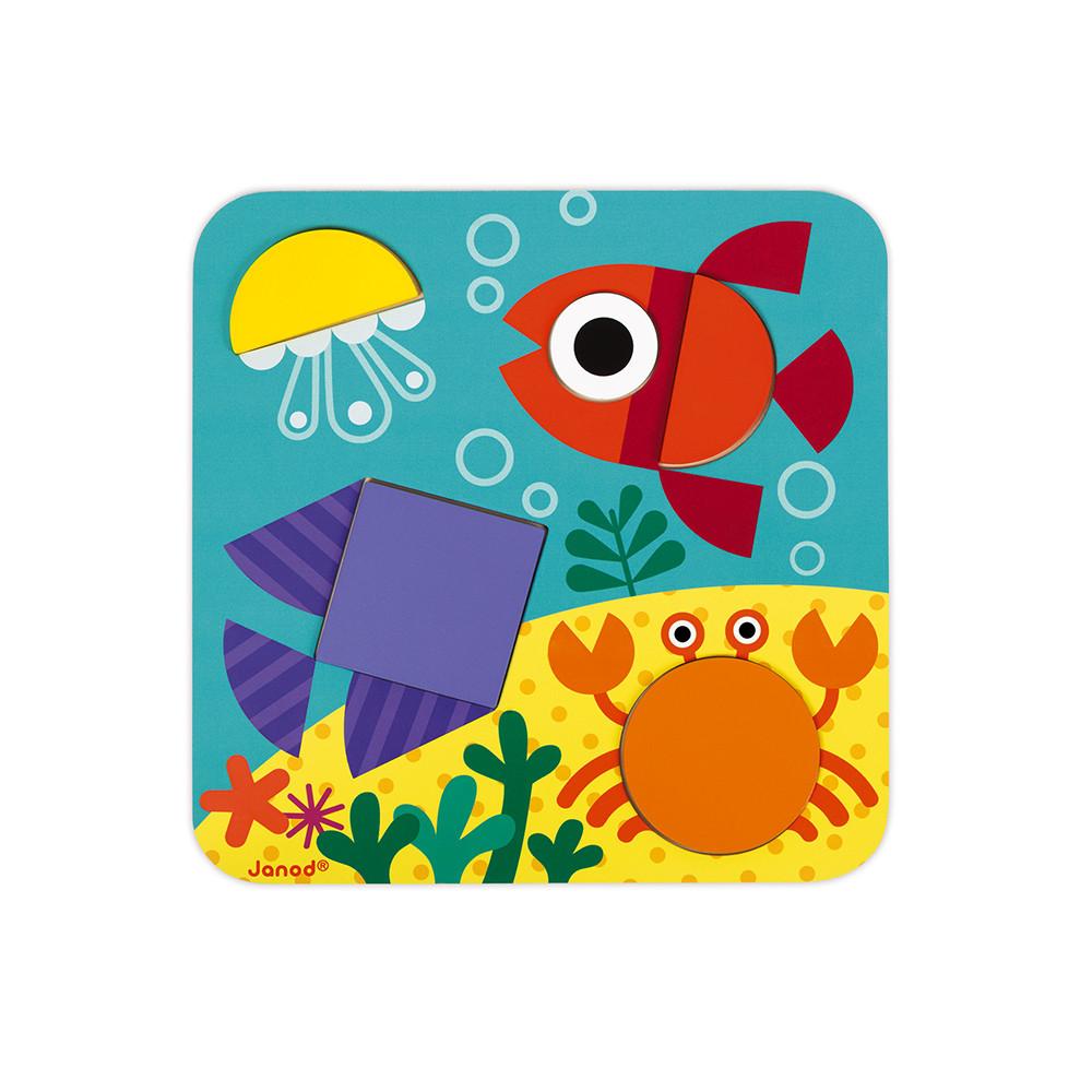 Детска играчка - аз уча формите - образователни играчки от janod(1)-bellamiestore