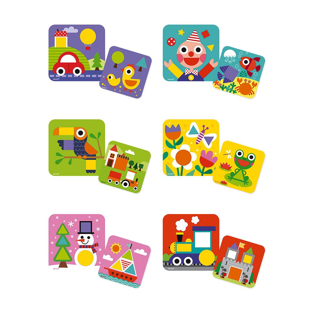 Детска играчка - аз уча формите - образователни играчки от janod(3)-bellamiestore