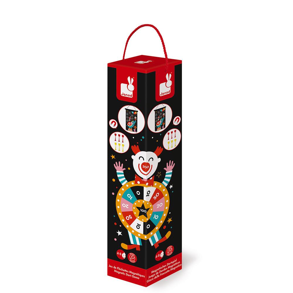 Детски образователни играчки - Магнитен дартс-Цирк от Janod(3)-bellamiestore