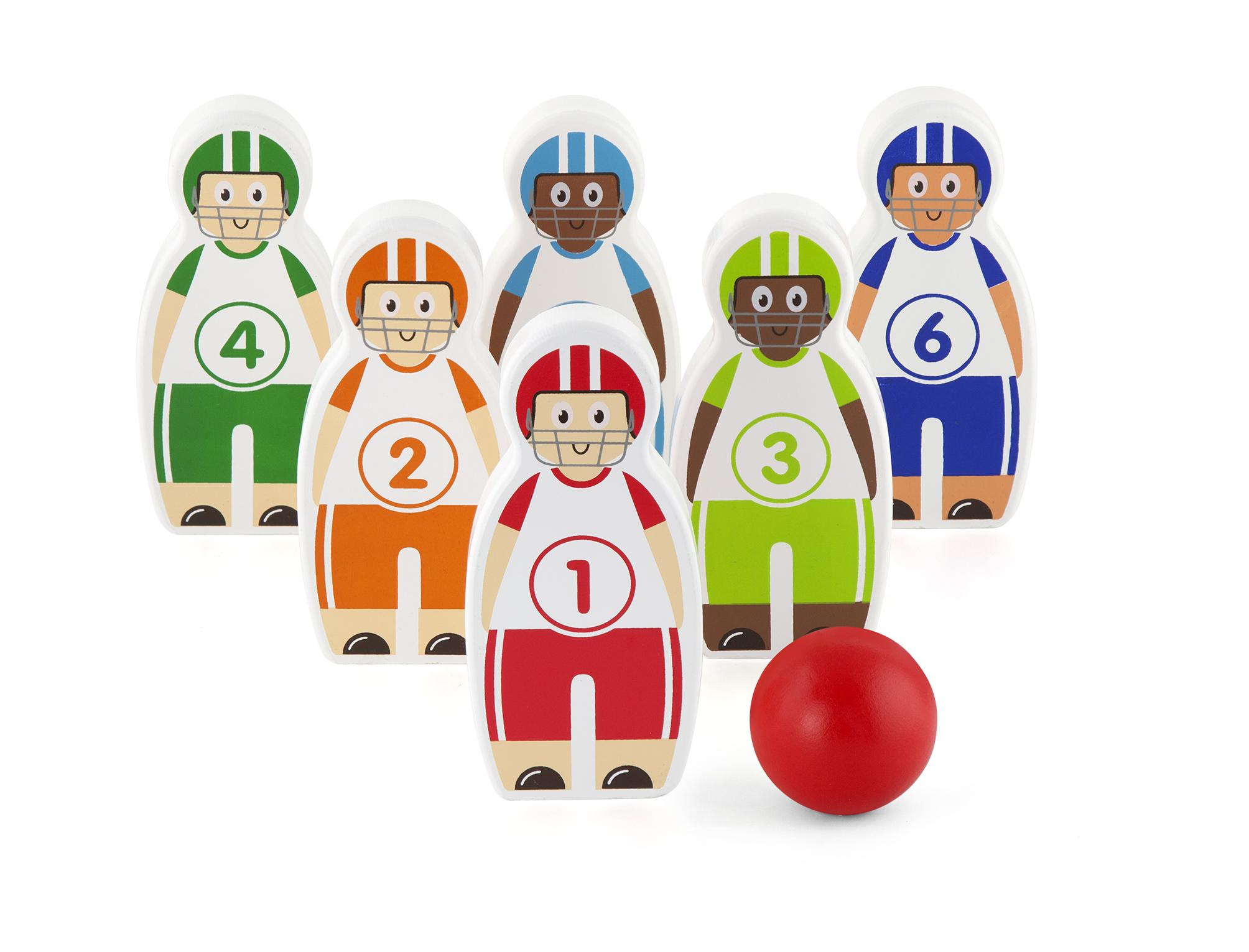 Детски боулинг - дървена играчка от Viga toys-bellamiestore