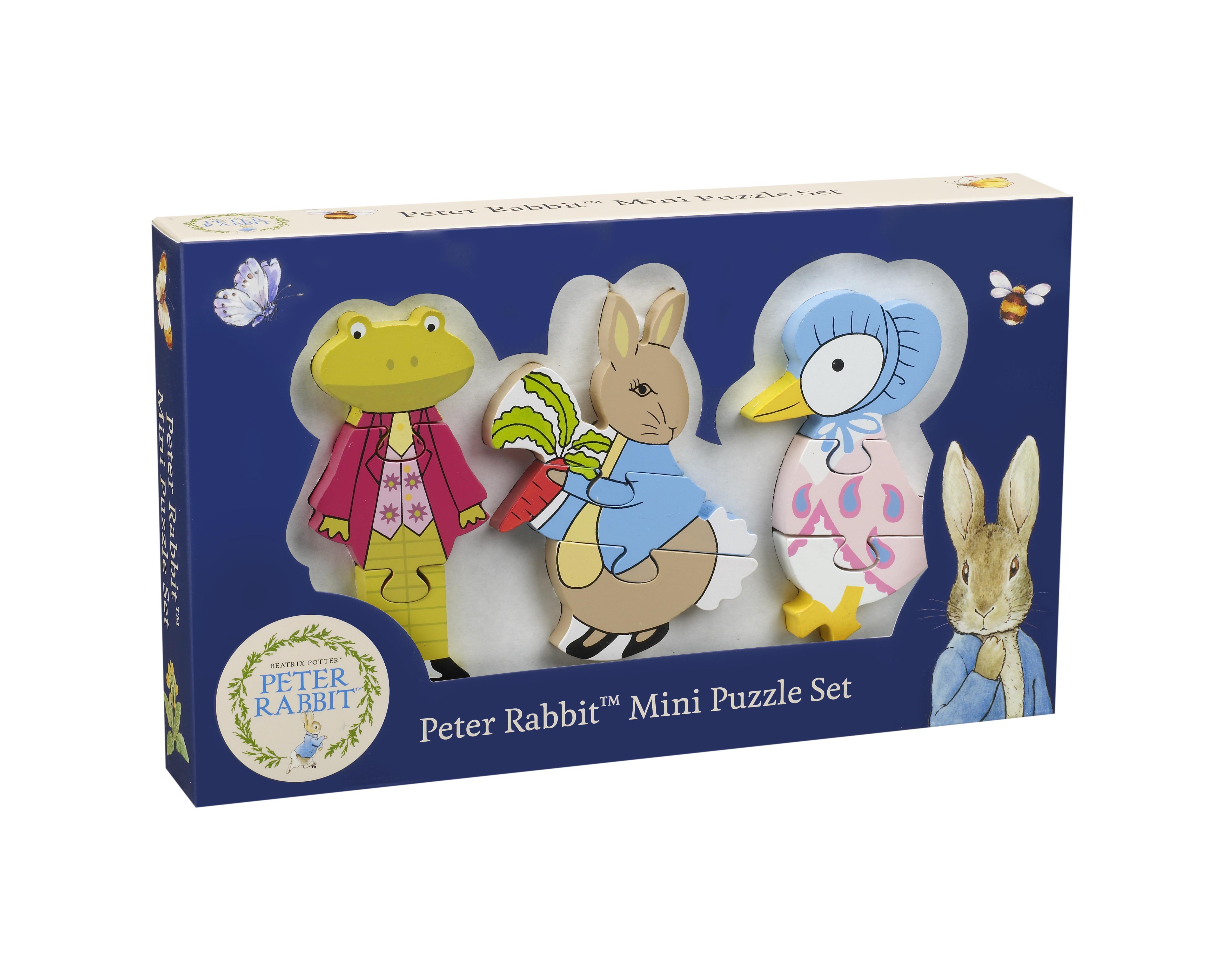 Детски пъзел от дърво - Зайчето Питър и приятели - бебешки играчки от Orange tree toys-bellamiestore
