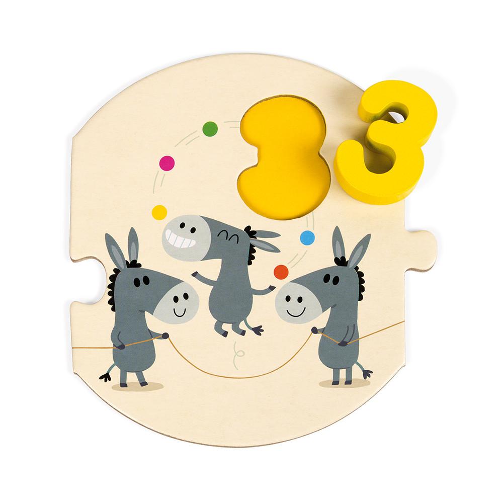 Детски пъзел с дървени цифри - Уча се да броя -Janod(2)-bellamiestore