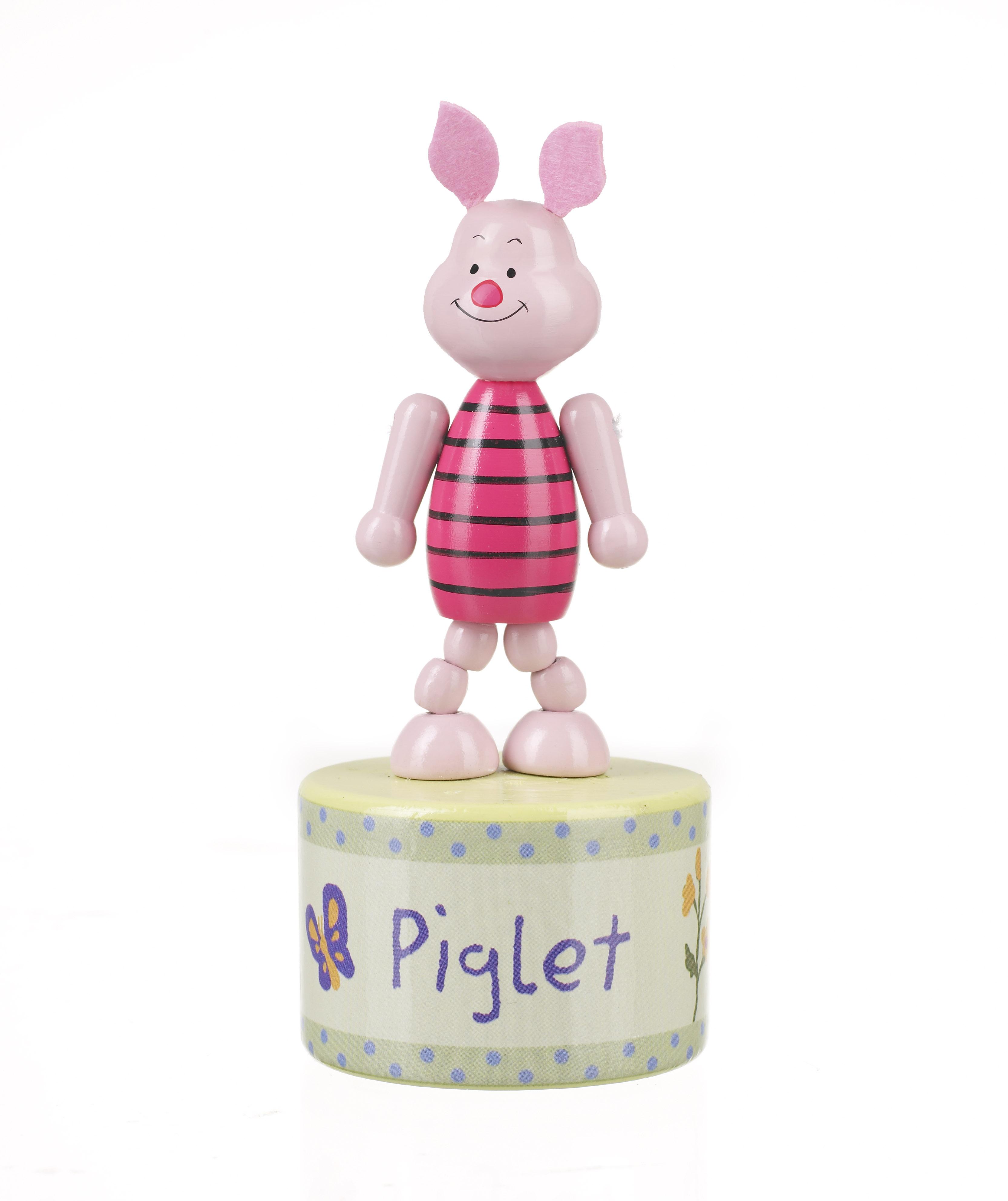 Дървена играчка фигурка на Прасчо - бебешки играчки от Orane tree toys-bellamiestore