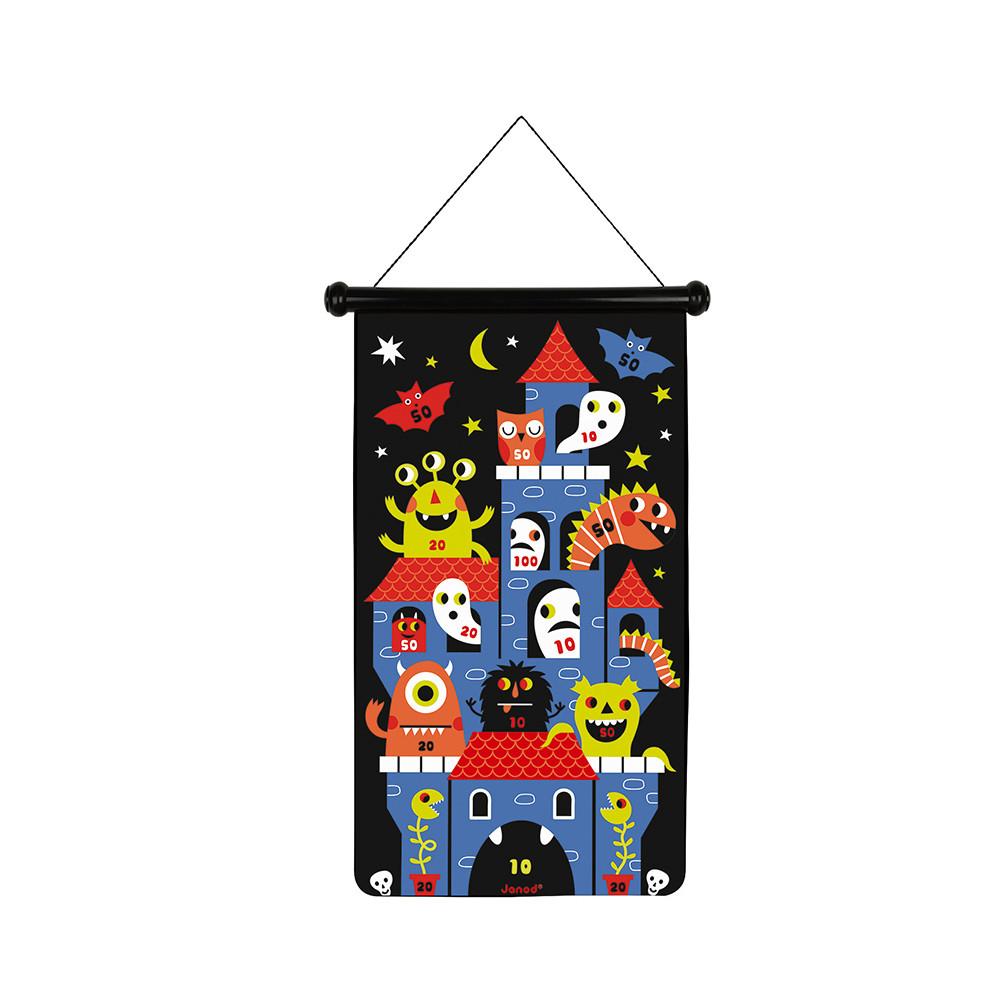 Магнитен дартс - Чудовища - детски образователни играчки от Janod(4)-bellamiestore