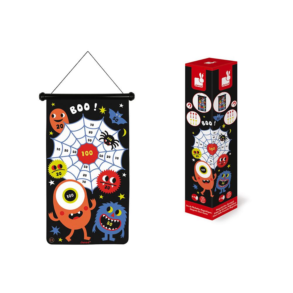 Магнитен дартс - Чудовища - детски образователни играчки от Janod(2)-bellamiestore