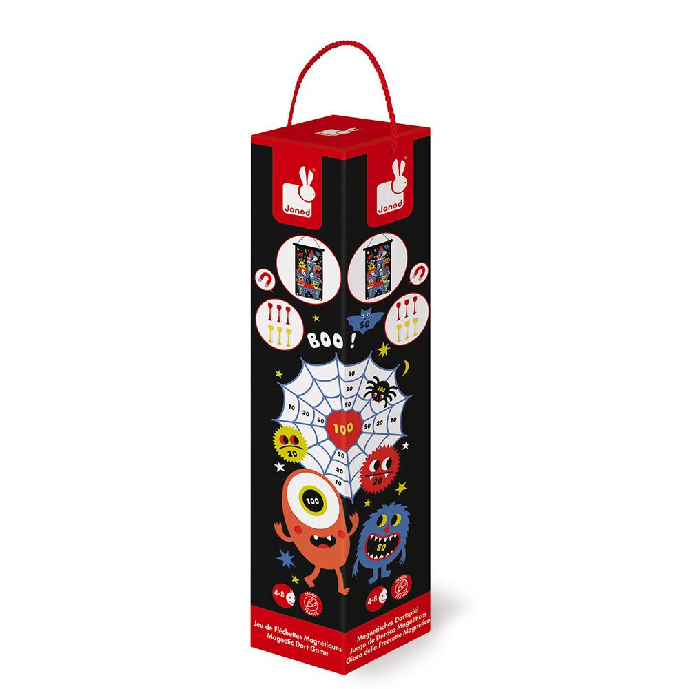 Магнитен дартс - Чудовища - детски образователни играчки от Janod(1)-bellamiestore