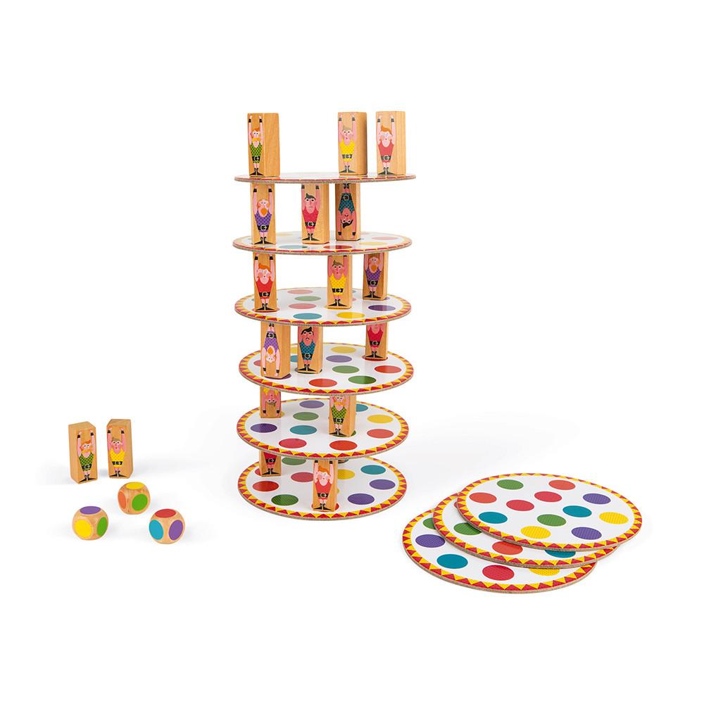 Настолна състезателна игра за сръчност - Акробат- детски играчки от Janod-bellamiestore