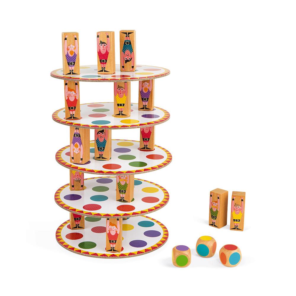 Настолна състезателна игра за сръчност - Акробат- детски играчки от Janod(1)-bellamiestore