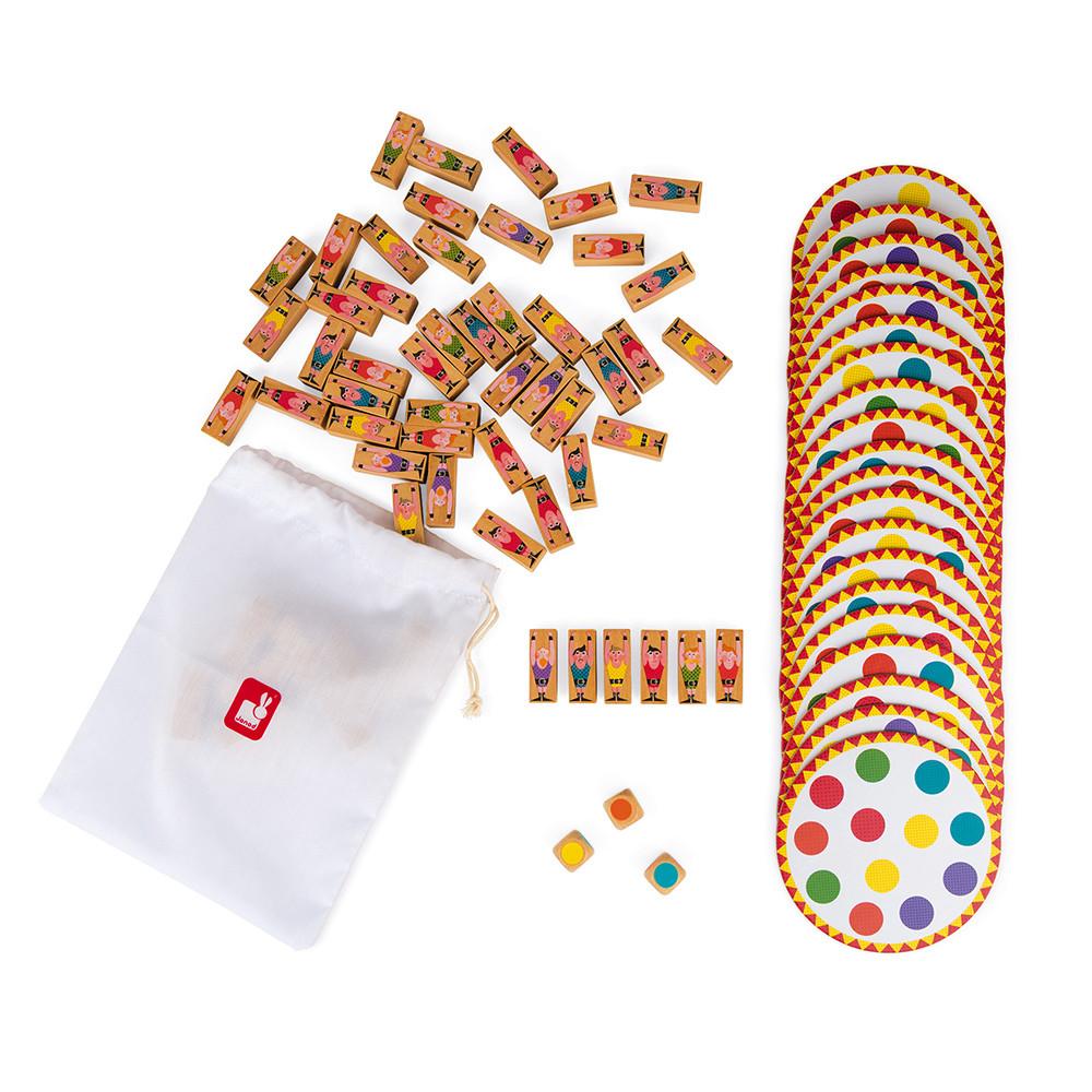 Настолна състезателна игра за сръчност - Акробат- детски играчки от Janod(3)-bellamiestore