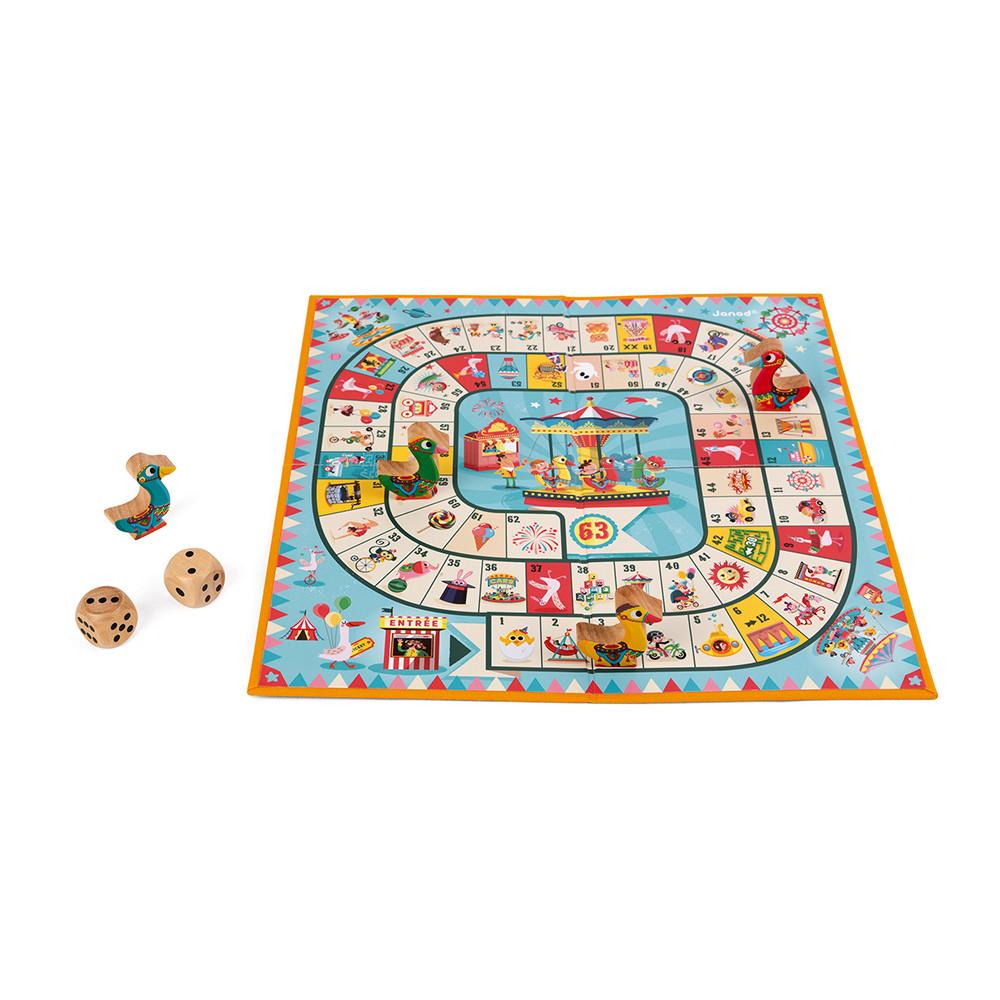 Настолна състезателна и образователна игра - Гъска - детски играчки от Janod(4)-bellamiestore