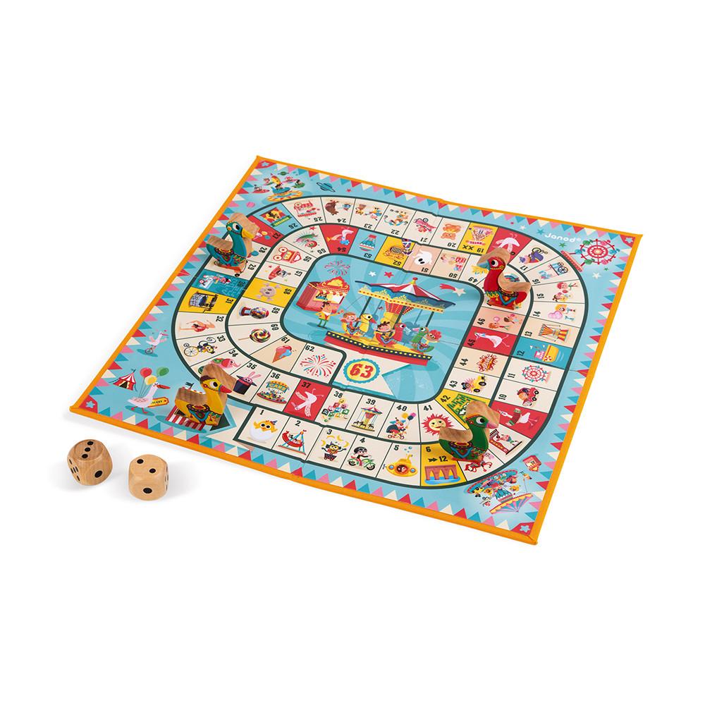 Настолна състезателна и образователна игра - Гъска - детски играчки от Janod(2)-bellamiestore