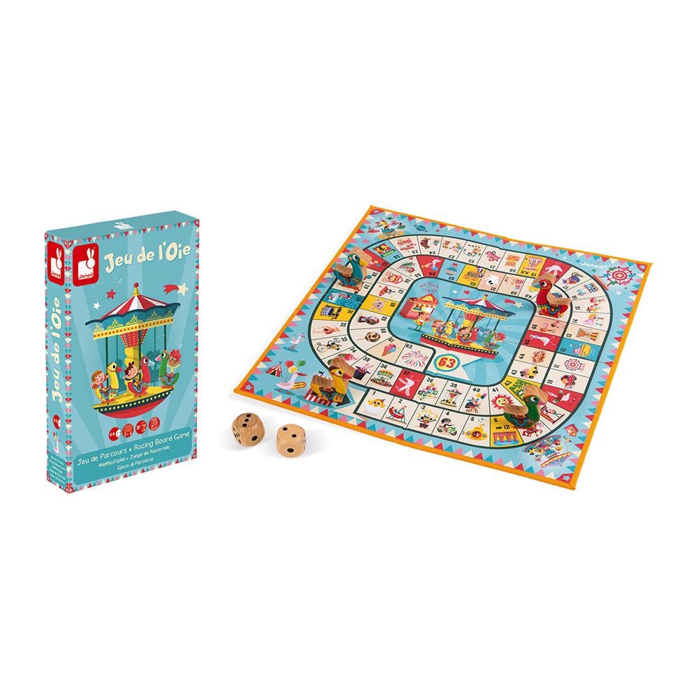 Настолна състезателна и образователна игра - Гъска - детски играчки от Janod(1)-bellamiestore