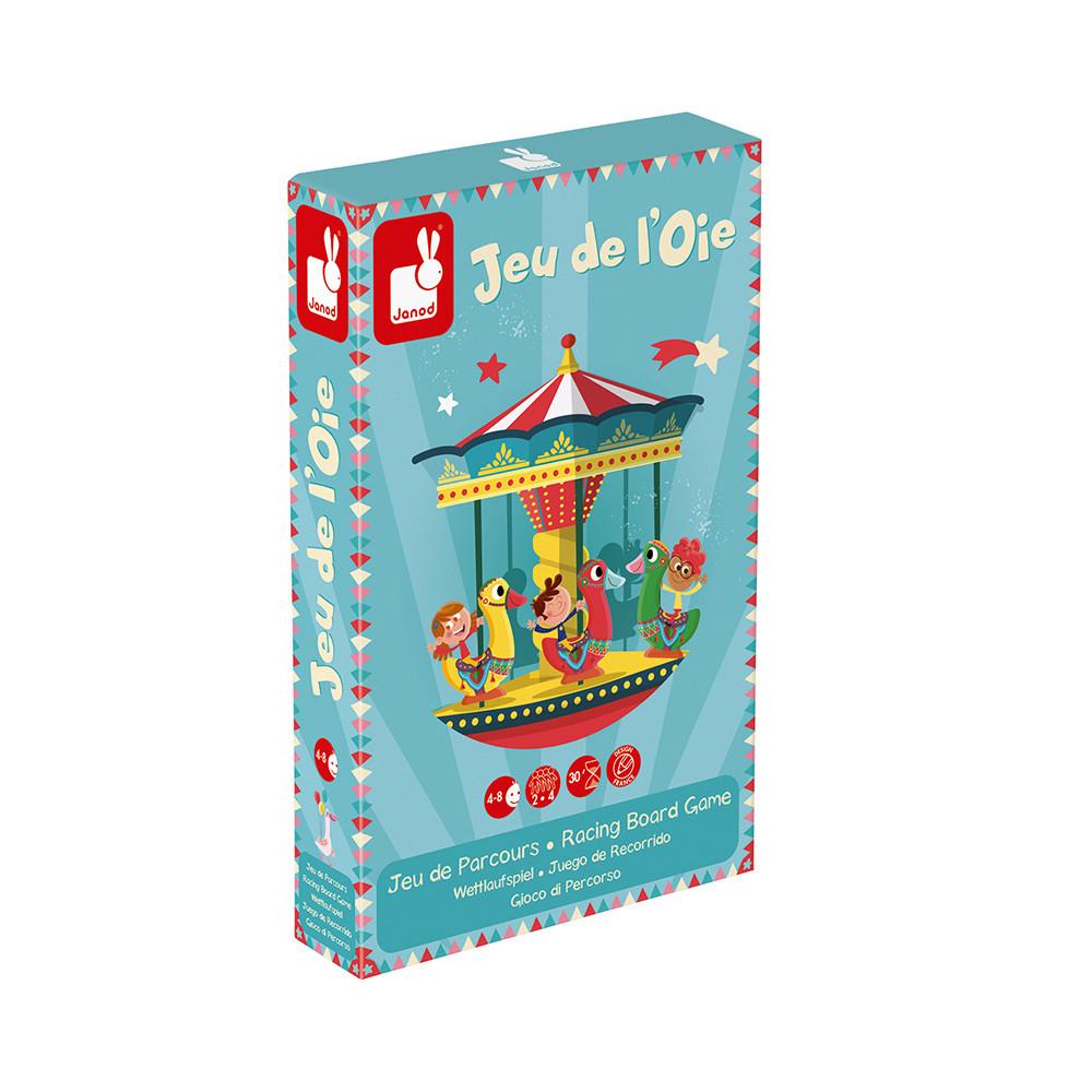 Настолна състезателна и образователна игра - Гъска - детски играчки от Janod-bellamiestore