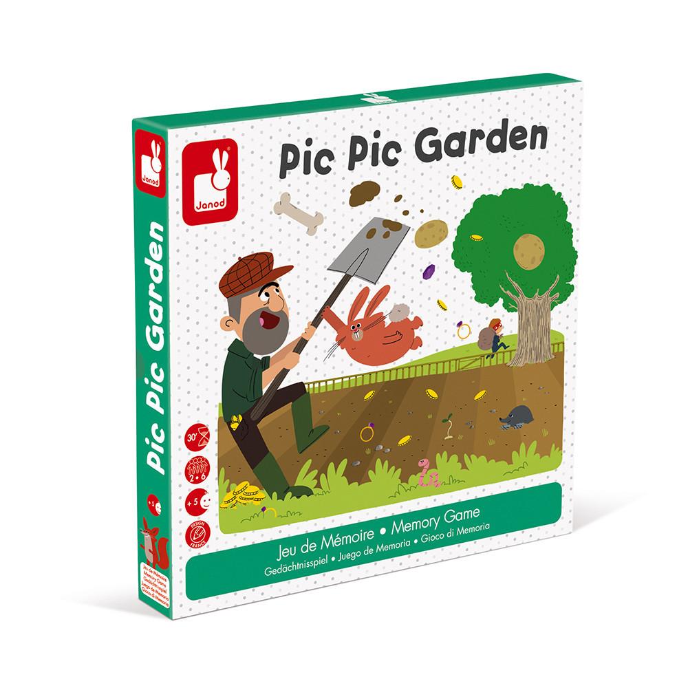 Настолна състезателна игра за памет - Градинар - детски играчки от Janod-bellamiestore