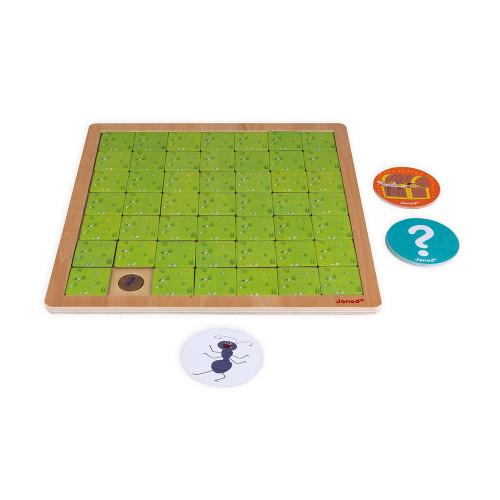 Настолна състезателна игра за памет - Градинар - детски играчки от Janod(1)-bellamiestore