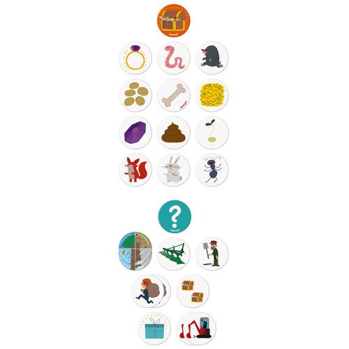 Настолна състезателна игра за памет - Градинар - детски играчки от Janod(3)-bellamiestore