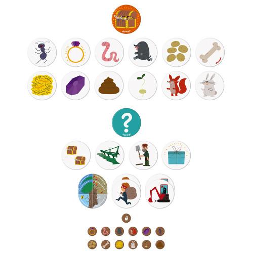 Настолна състезателна игра за памет - Градинар - детски играчки от Janod(4)-bellamiestore