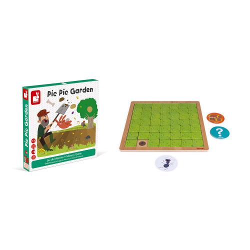 Настолна състезателна игра за памет - Градинар - детски играчки от Janod(5)-bellamiestore