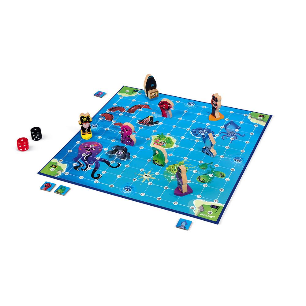 Стратегическа настолна игра - Луди Пирати - детски играчки от Janod(2)-bellamiestore