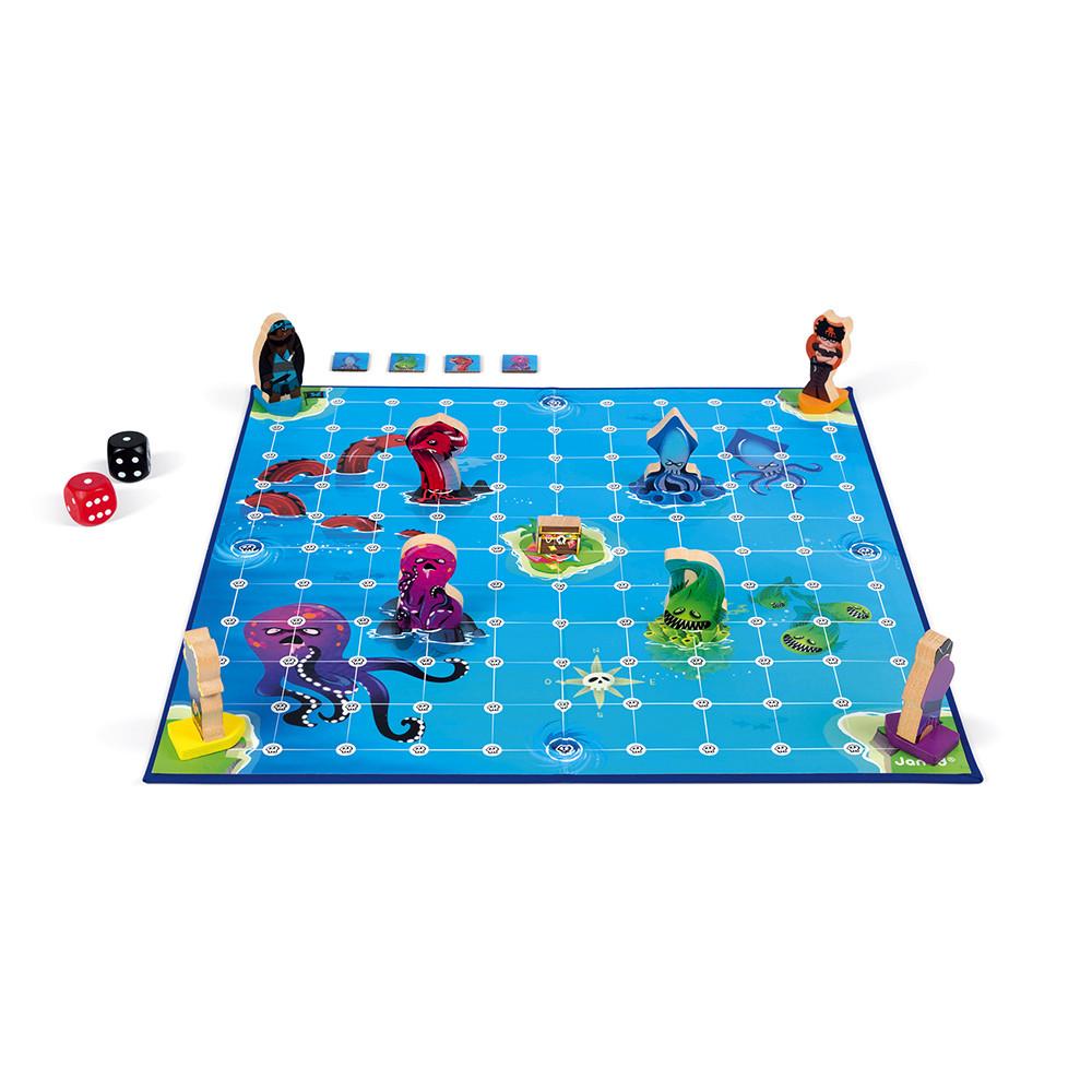 Стратегическа настолна игра - Луди Пирати - детски играчки от Janod(1)-bellamiestore