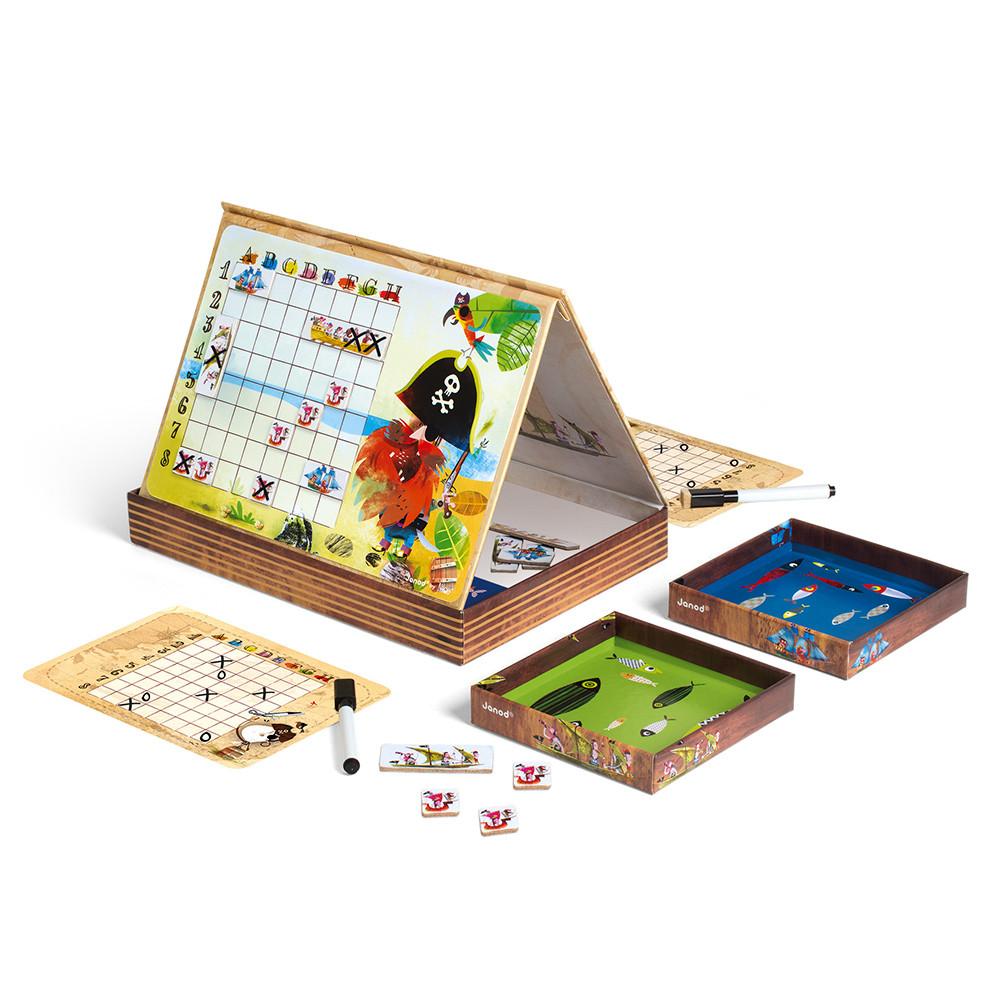 Стратегическа настолна игра - Морска битка - детски образователни играчки от Janod-bellamiestore