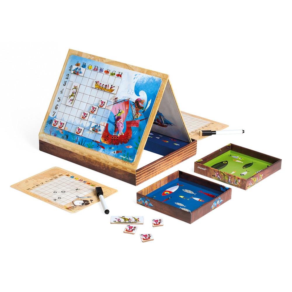 Стратегическа настолна игра - Морска битка - детски образователни играчки от Janod(1)-bellamiestore