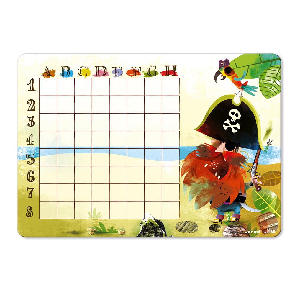 Стратегическа настолна игра - Морска битка - детски образователни играчки от Janod(3)-bellamiestore