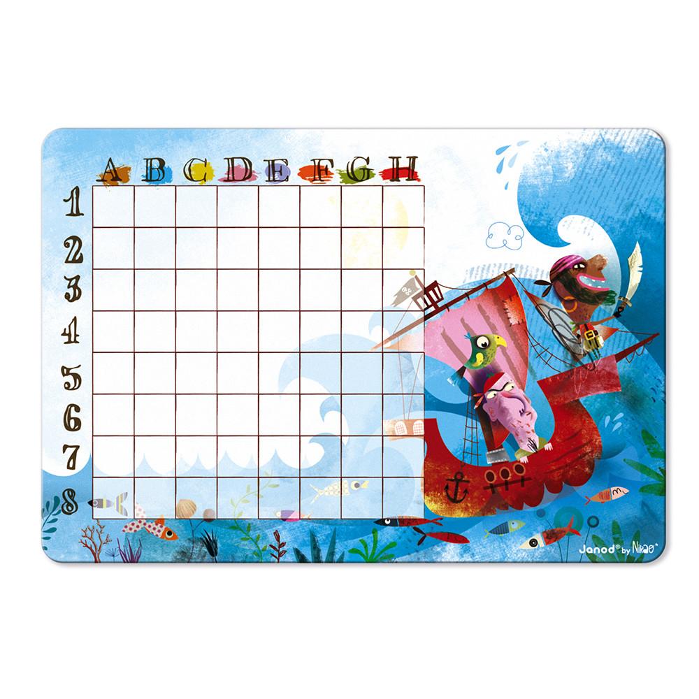 Стратегическа настолна игра - Морска битка - детски образователни играчки от Janod(4)-bellamiestore