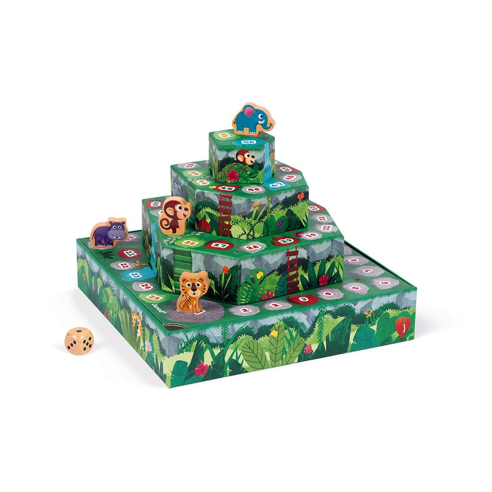 Състезателна настолна игра - Джугла- детски образователни играчки от Janod-bellamiestore