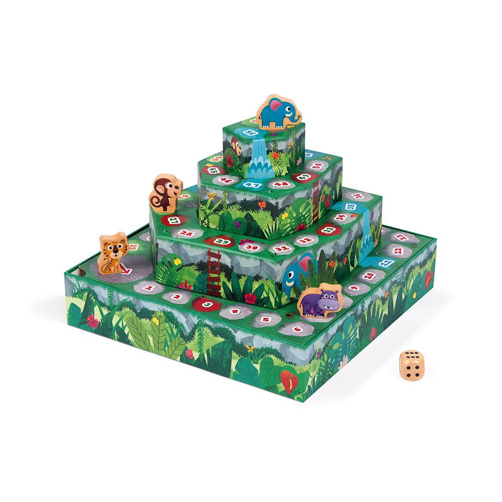 Състезателна настолна игра - Джугла- детски образователни играчки от Janod(1)-bellamiestore