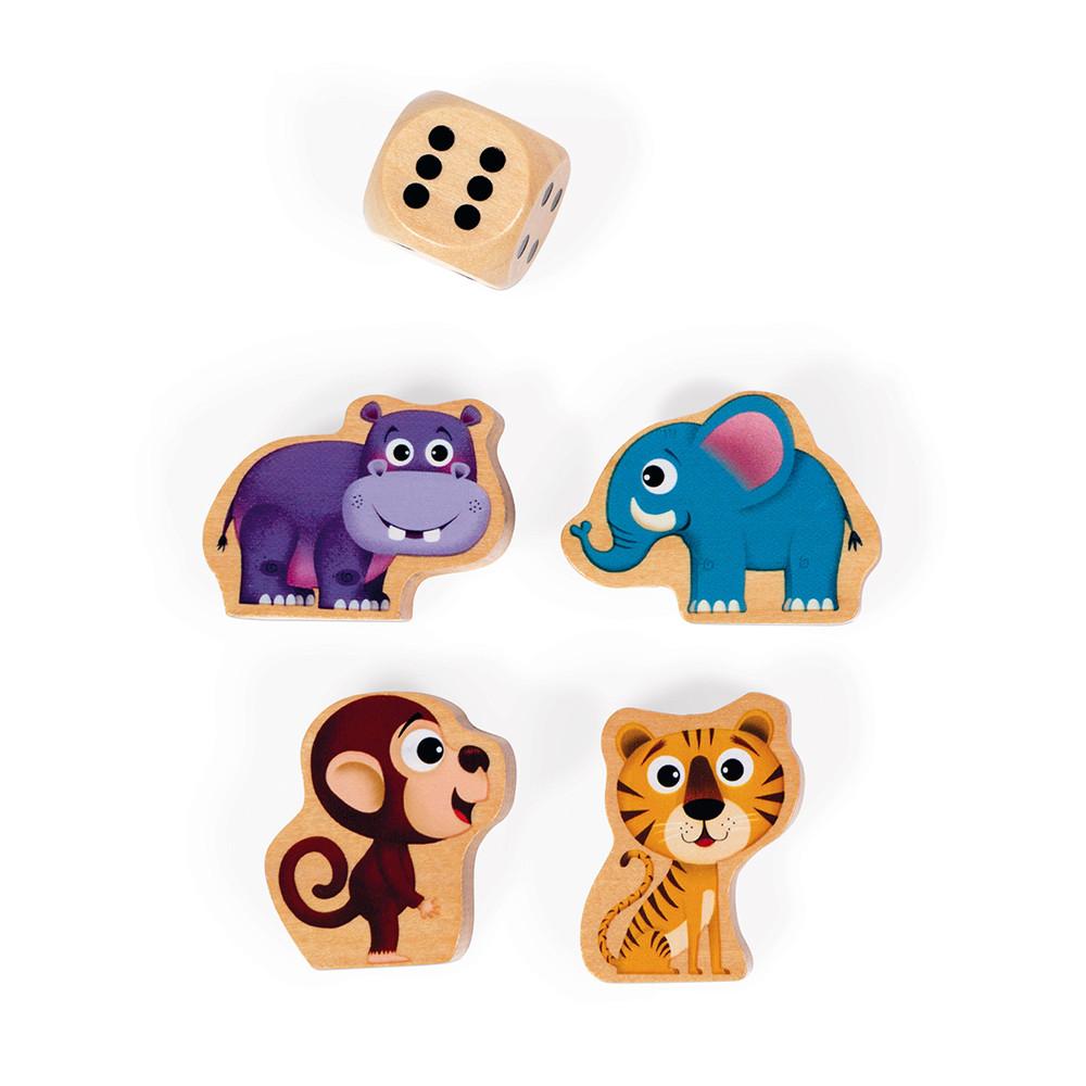 Състезателна настолна игра - Джугла- детски образователни играчки от Janod(2)-bellamiestore
