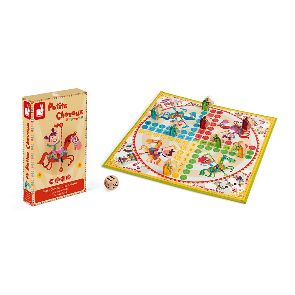 Не се сърди човече - настолна състезателна игра - детски играчки от Janod-bellamiestore