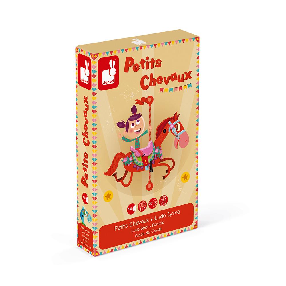 Не се сърди човече - настолна състезателна игра - детски играчки от Janod(1)-bellamiestore